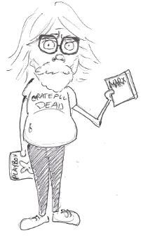 The commie professor--last day of school