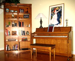 Kelly's Wurlitzer Piano