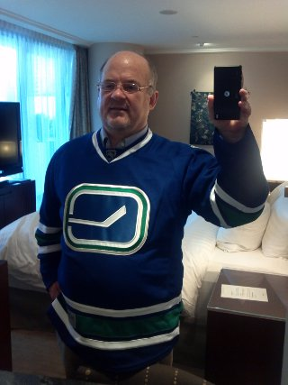 My new Vancouver Canucks jersey