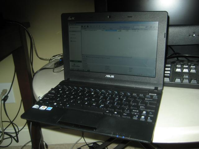 EeePC netbook to act as a development server for coffee project