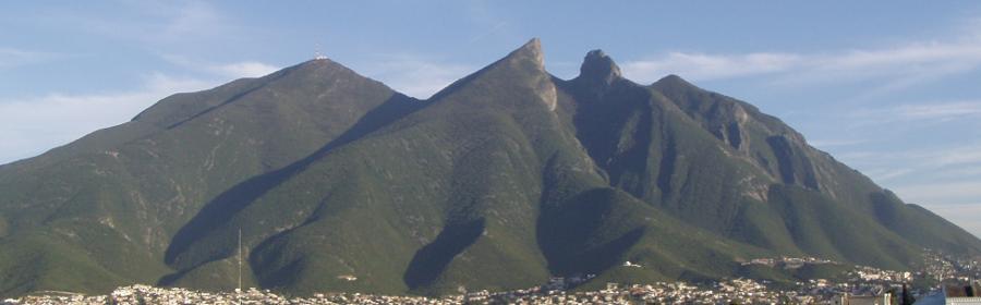 El Cerro de La Silla, Monterrey, Nuevo Leon, Mexico