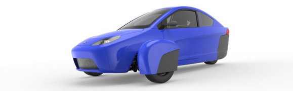 Elio 3-wheel car