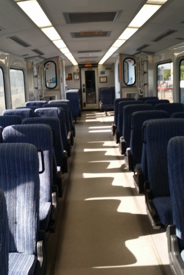 Train to Beaverton