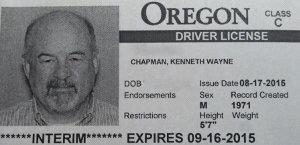 Old license number the same