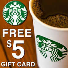 $5 of coffee for free!