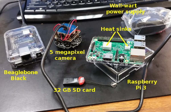 Raspberry Pi 3 -- One day delivery from Amazon
