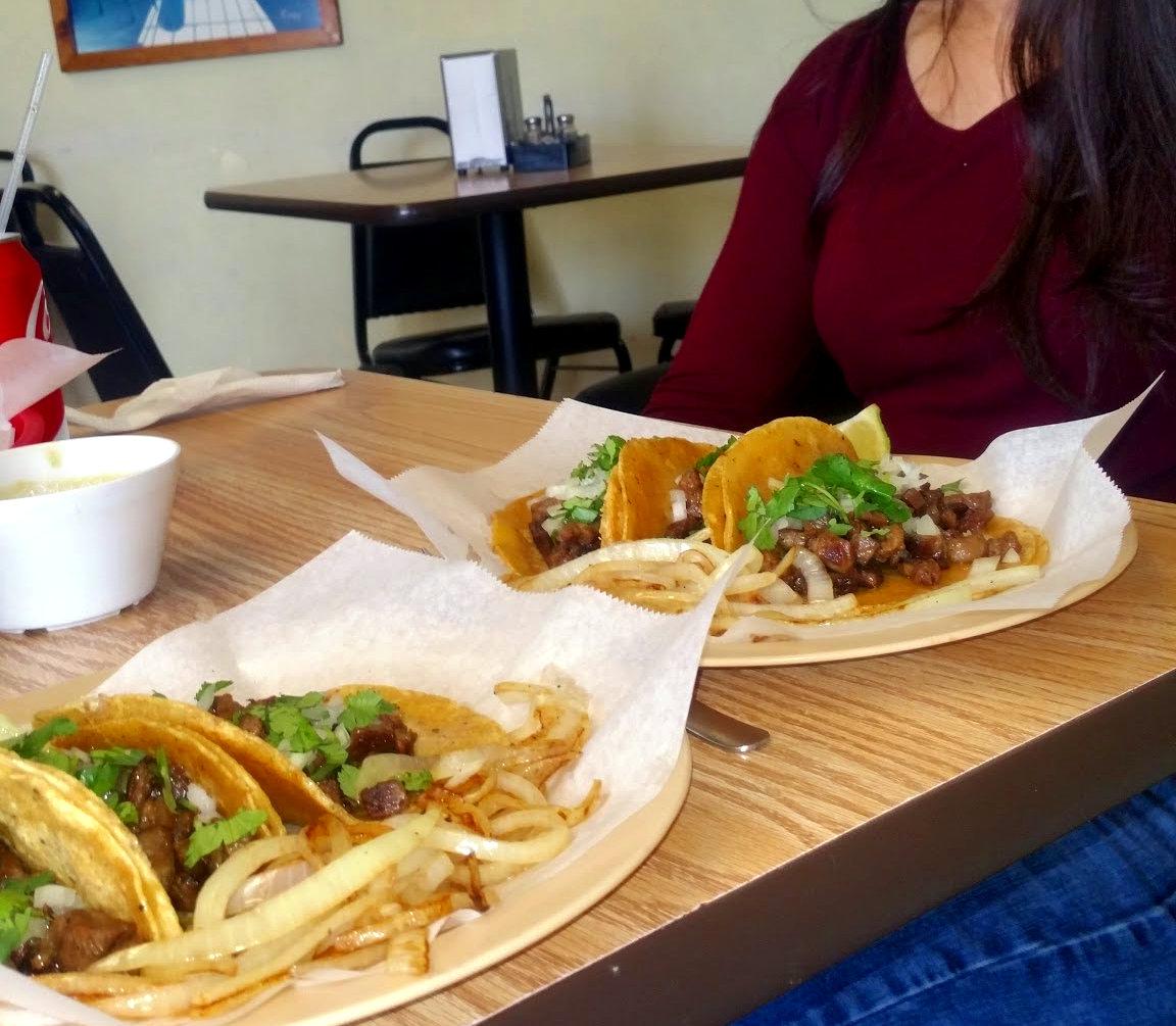 Tacos from Monterrey