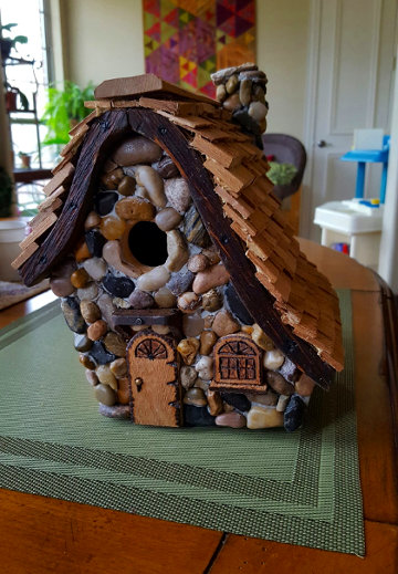 Al Russell (our elder in Lewisville) makes awesome birdhouses