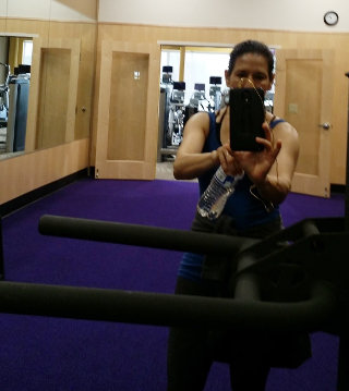 Lorena at Anytime Fitness in Lewisville, TX