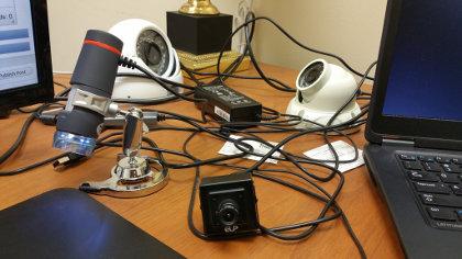 Cheapy USB cameras