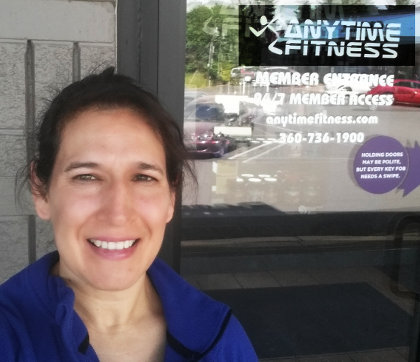 Lorena at Anytime Fitness in Centralia