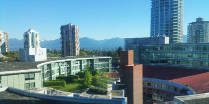 Vancouver Hilton near my new job