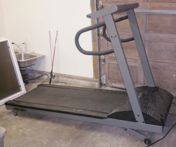 Bob provides a treadmill